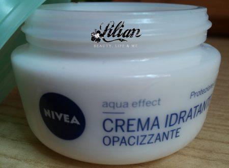 Crema Nivea Aqua Effect • Review