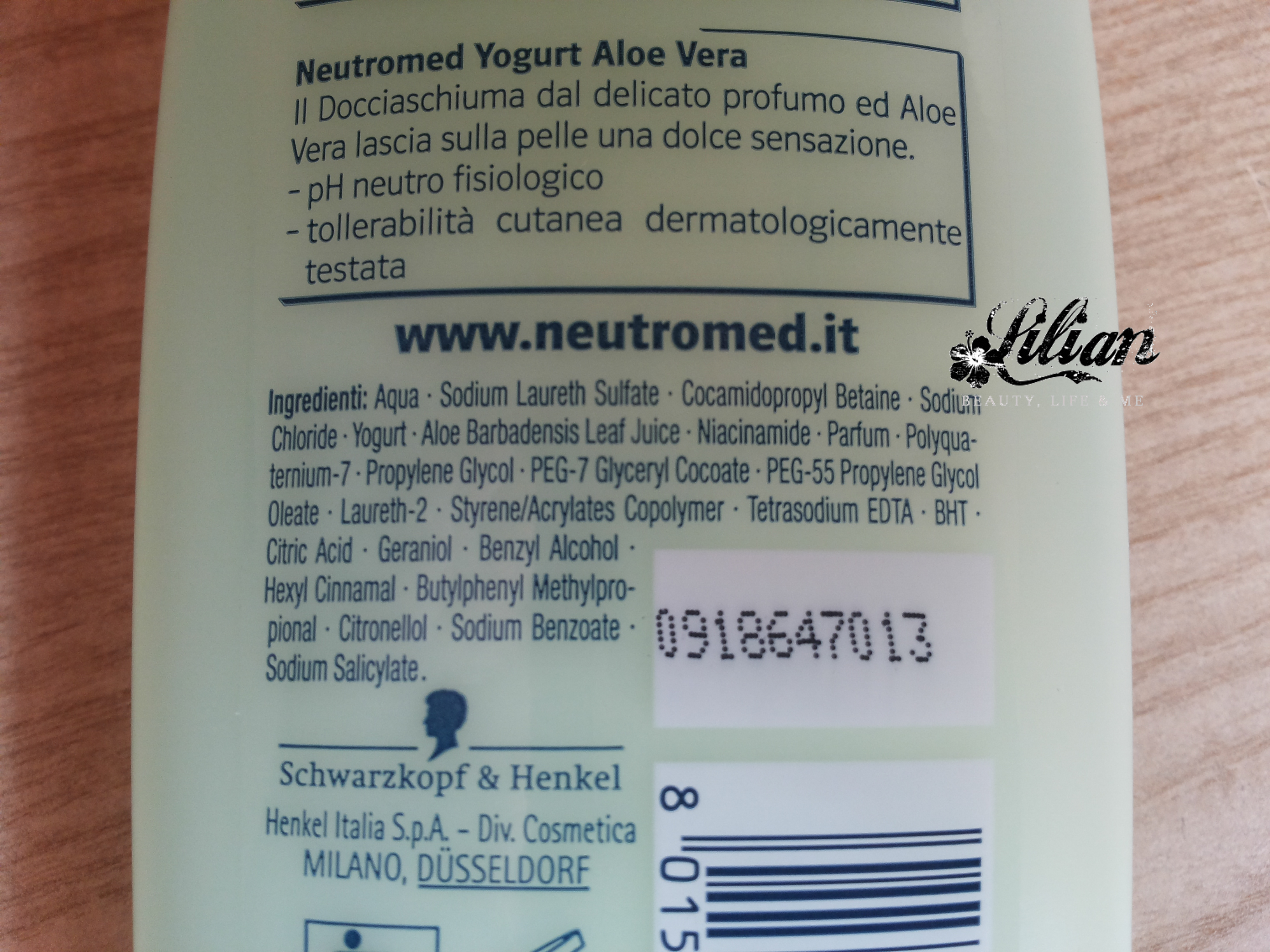 bagnoschiuma neutro med aloe vera 2