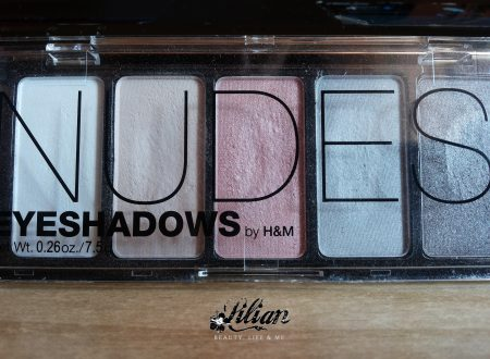 Palette Nudes Eyeshadows H&M • Review