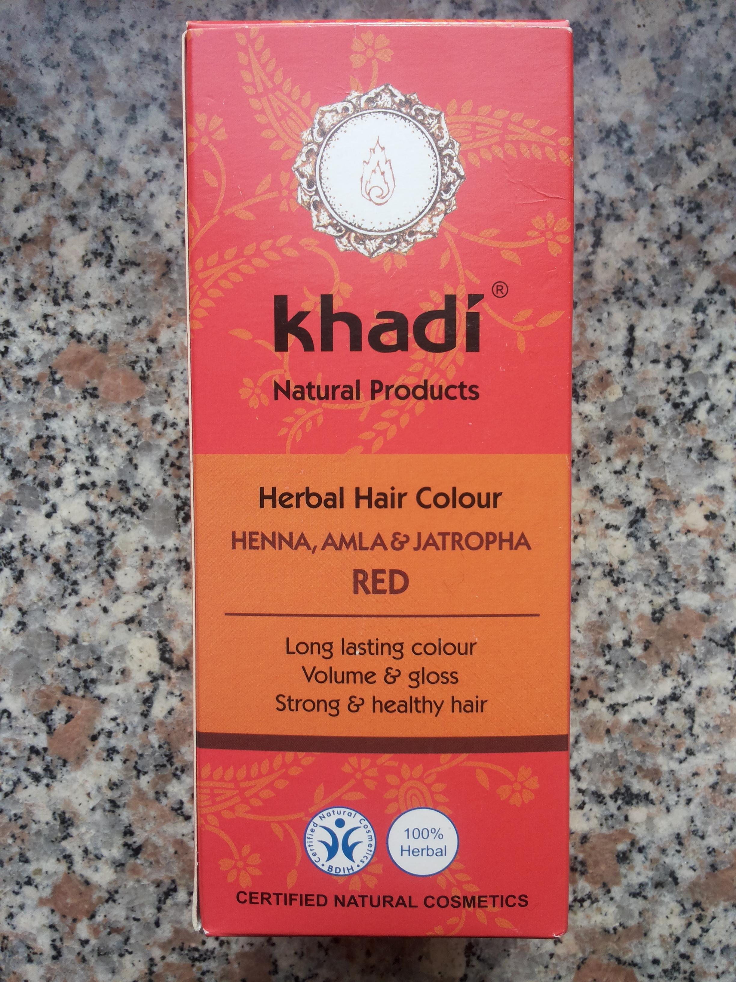 hennè rosso khadì