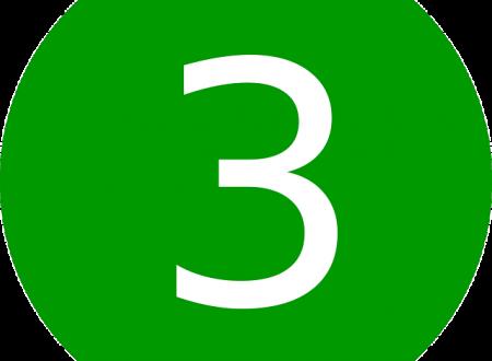 """🔹 Tag """"la regola del tre"""" 🔹"""