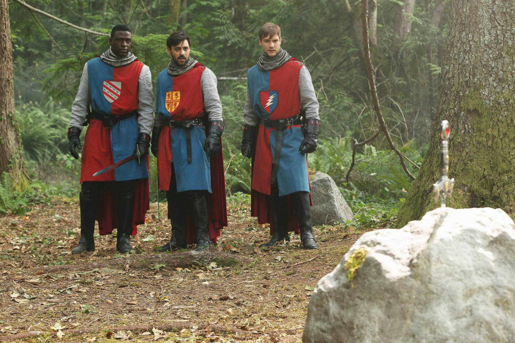 once upon a time 5 stagione camelot re artù