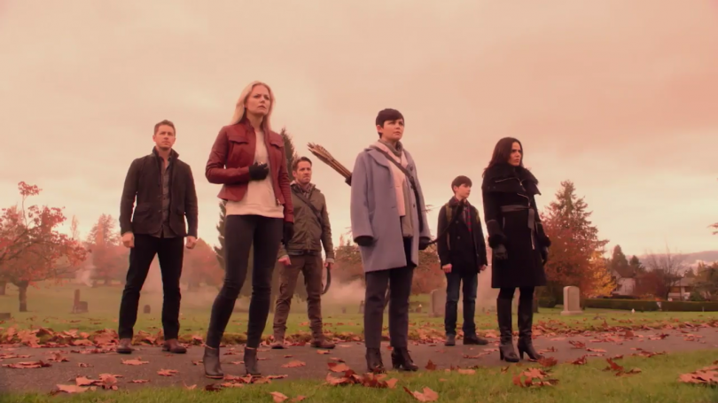 Once Upon a Time stagione 5 Oltretomba