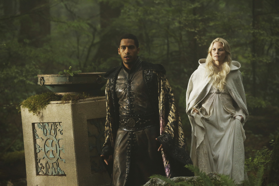 Once Upon a Time 5 stagione emma e merlino