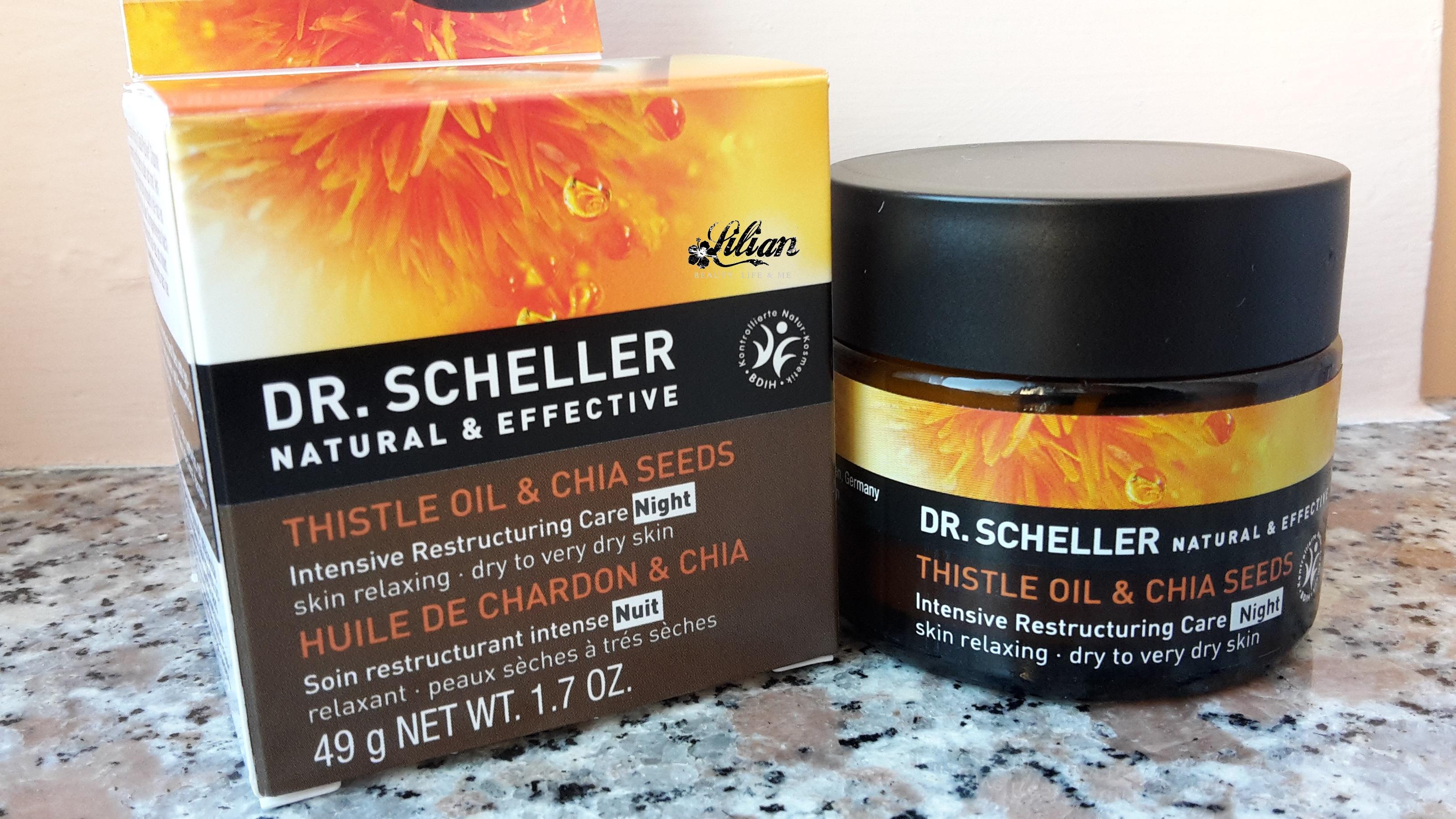 Crema da notte intensa e ricostituente di Dr. Sheller