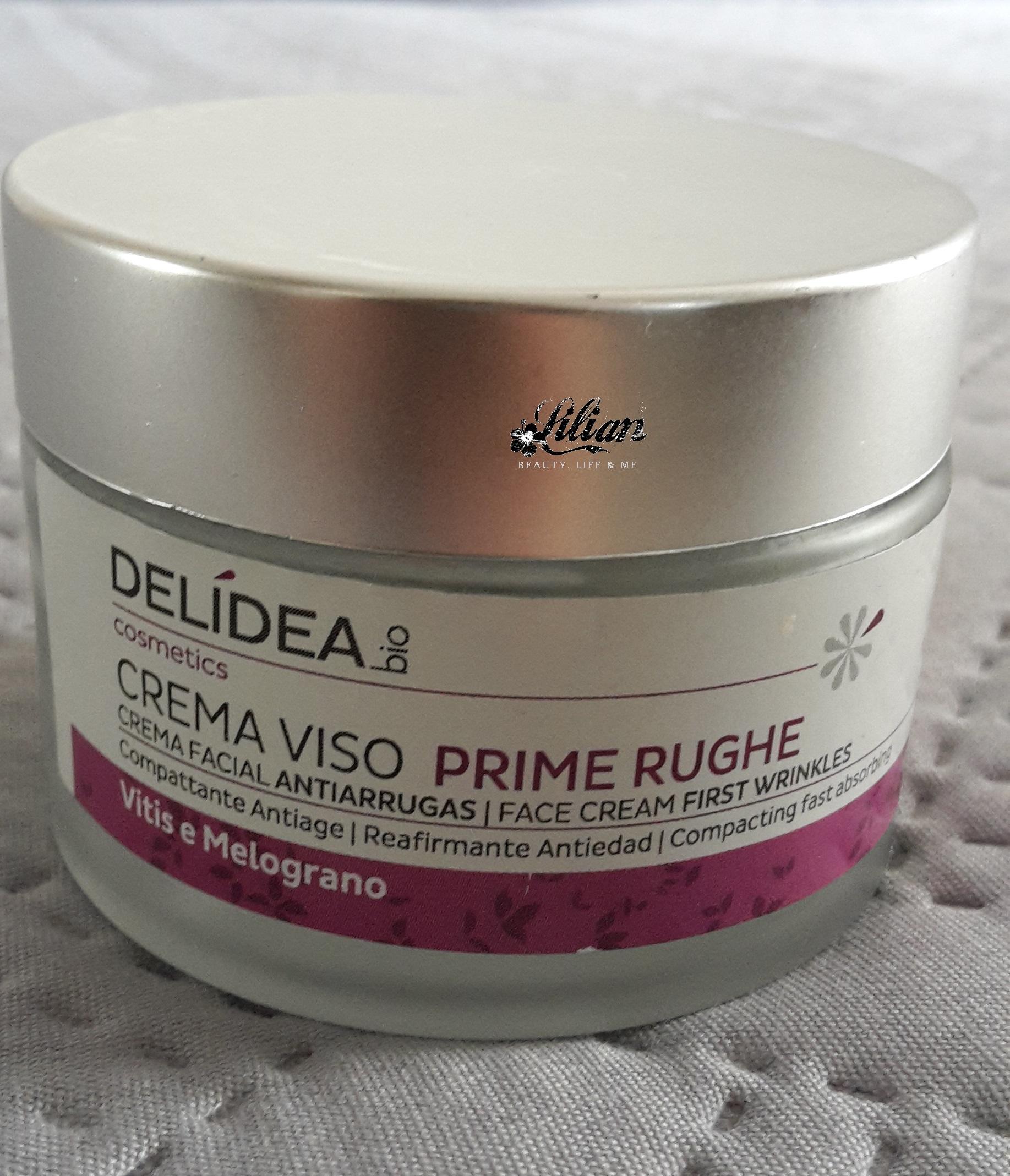 Crema viso prime rughe di Delidea